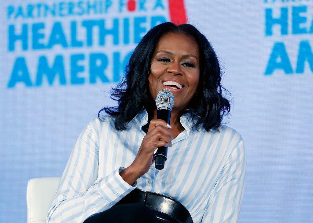 Michelle Obama na Healthier Future Summit w Waszyngtonie