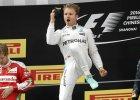 GP Chin. Szóste zwycięstwo Rosberga z rzędu, szachy Ferrari z Hamiltonem