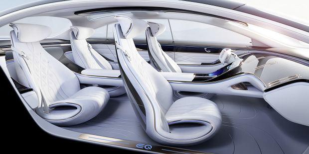 Mercedes Vision EQS