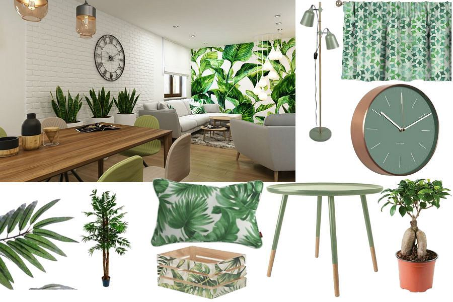 Trend: miejska dżungla - dodatki do mieszkania