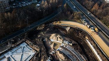 Budowa centrum przesiadkowego w Katowicach-Zawodziu