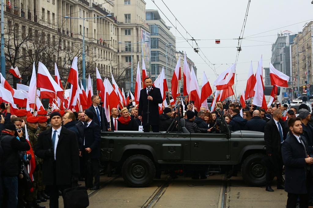 Andrzej Duda otwiera rządowy marsz
