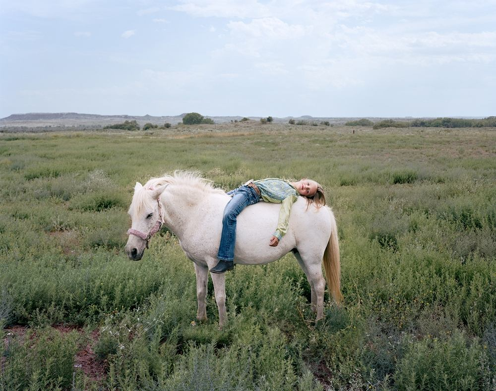 Ilona Szwarc, 'Tayln, Canadian, Texas' z cyklu 'Rodeo Girls', 2012/2015
