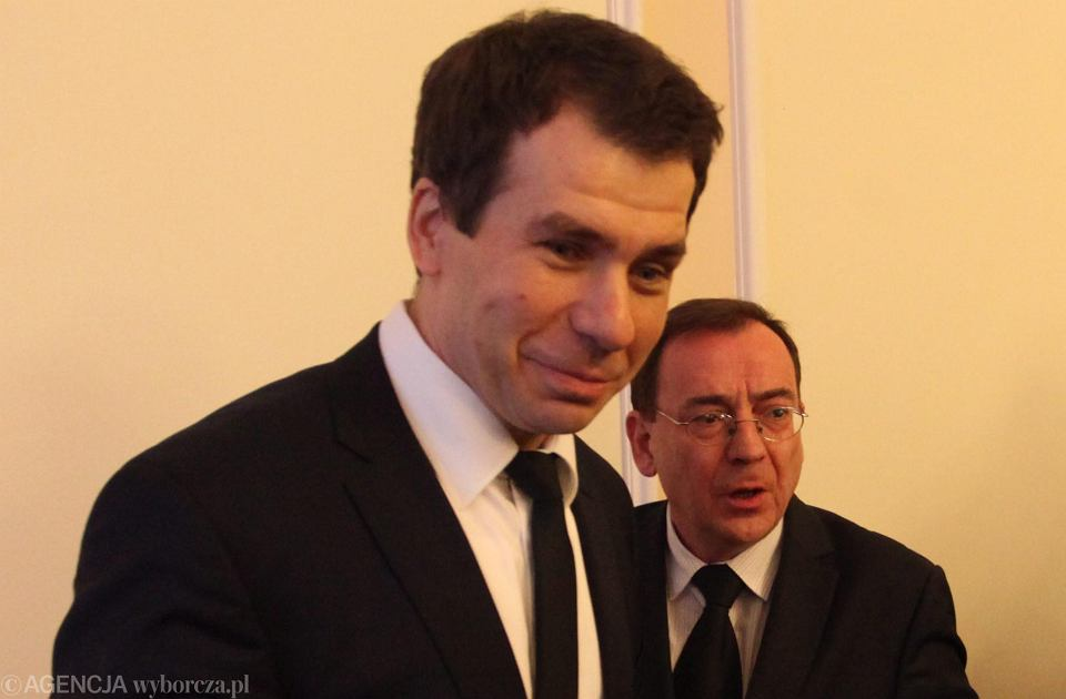 Ernest Bejda (po lewej) i Mariusz Kamiński