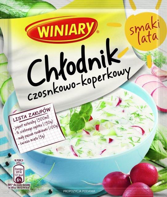 Pyszne i orzeźwiające chłodniki na letnie dni w 3 smakach od WINIARY!