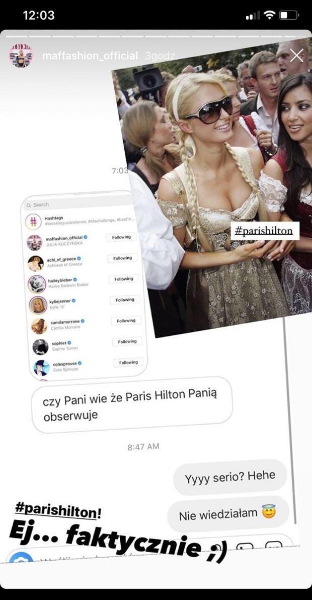 Maffashion i Paris Hilton