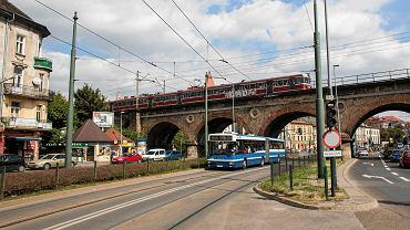Wiadukt kolejowy nad ul. Grzegórzecką