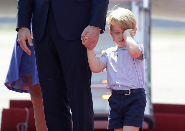 Książę George wylądował w Berlinie