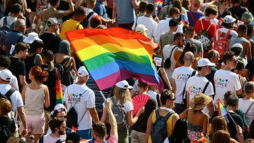 24.07.2021 Węgry, Budapeszt. Parada równości