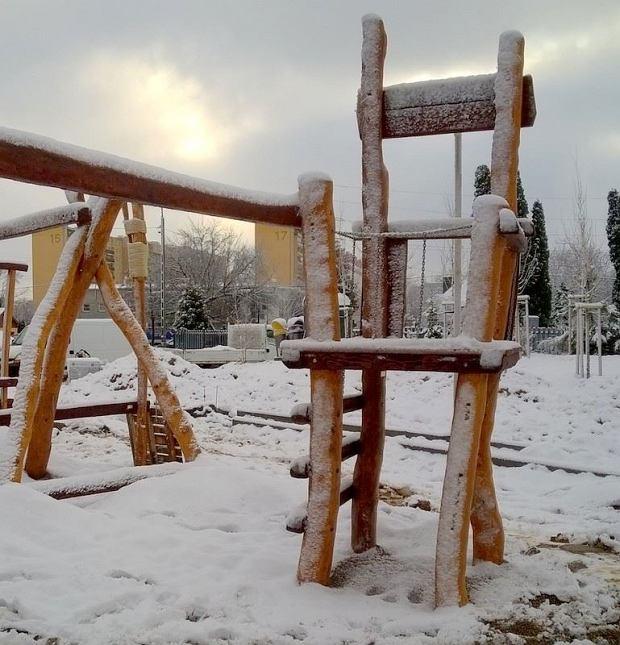 Plac zabaw dla dorosłych.