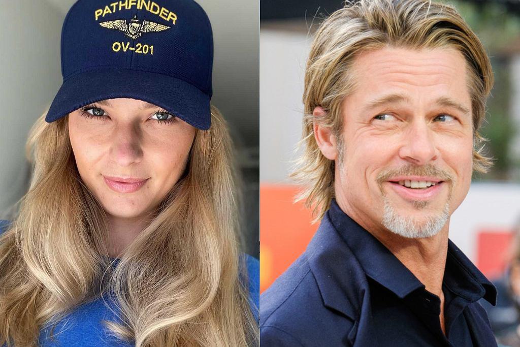 Karolina Szymczak, Brad Pitt