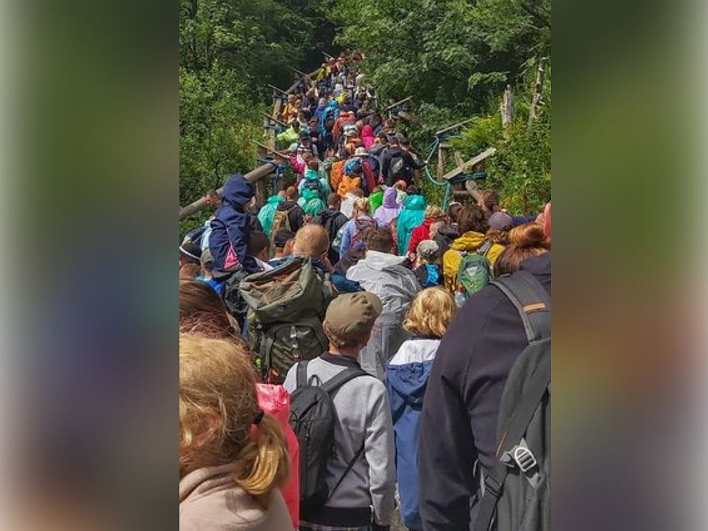 Ścisk w Tatrach
