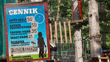 Parki linowe są w Polsce coraz popularniejsze