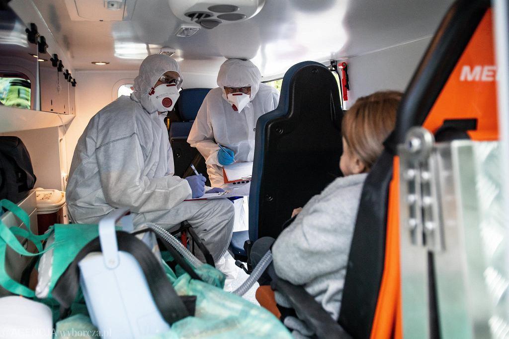 Szpital w czasie epidemii koronawirusa (zdjęcie ilustracyjne)
