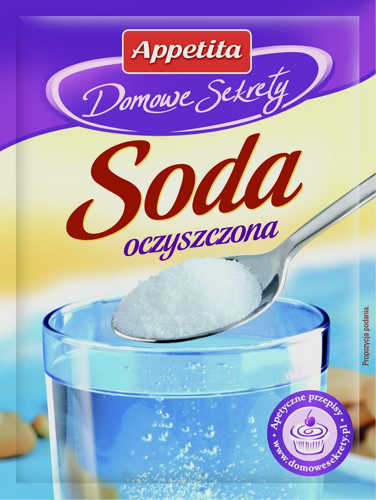 Domowe środki czystości z dodatkami cukierniczymi Appetita