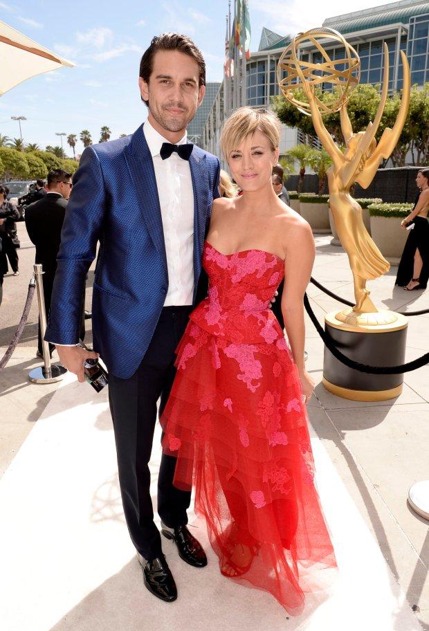 Kaley Cuoco, Ryan Sweeting, Emmy 2014
