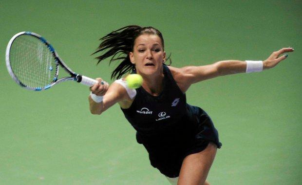 WTA Shenzhen. Agnieszka Radwańska doleciała prywatnym odrzutowcem