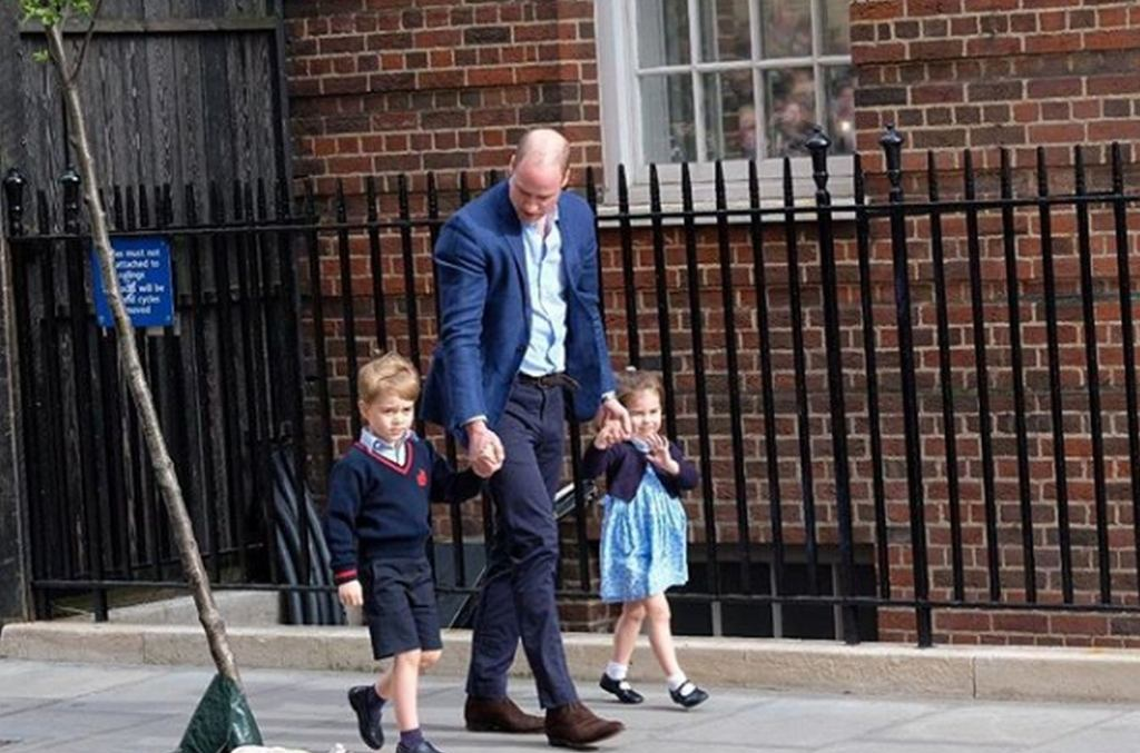 książę William, Charlotte, George