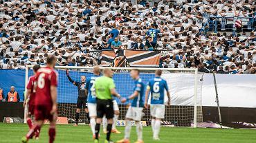 Lech Poznań - Wisła Kraków 0:0. Kibice Lecha