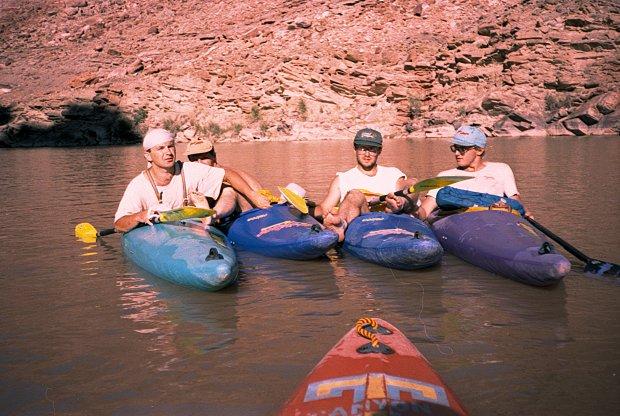 Członkowie wyprawy Kolorado 1994 fot. archiwum prywatne ''Bystrza''