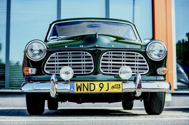 Volvo amazon nie brało udziału w testach. Przez wielu uważane za najpiękniejsze.