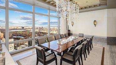 42-metrowy salon z panoramicznymi oknami wychodzącymi na Central Park za 75 mln dolarów - i to nie jest najdroższa nieruchomość w Nowym Jorku.