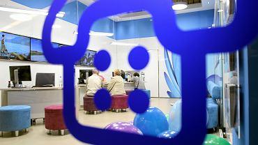 Salon firmy UPC w jednej z galerii handlowych. Lublin 24 sierpnia 2014