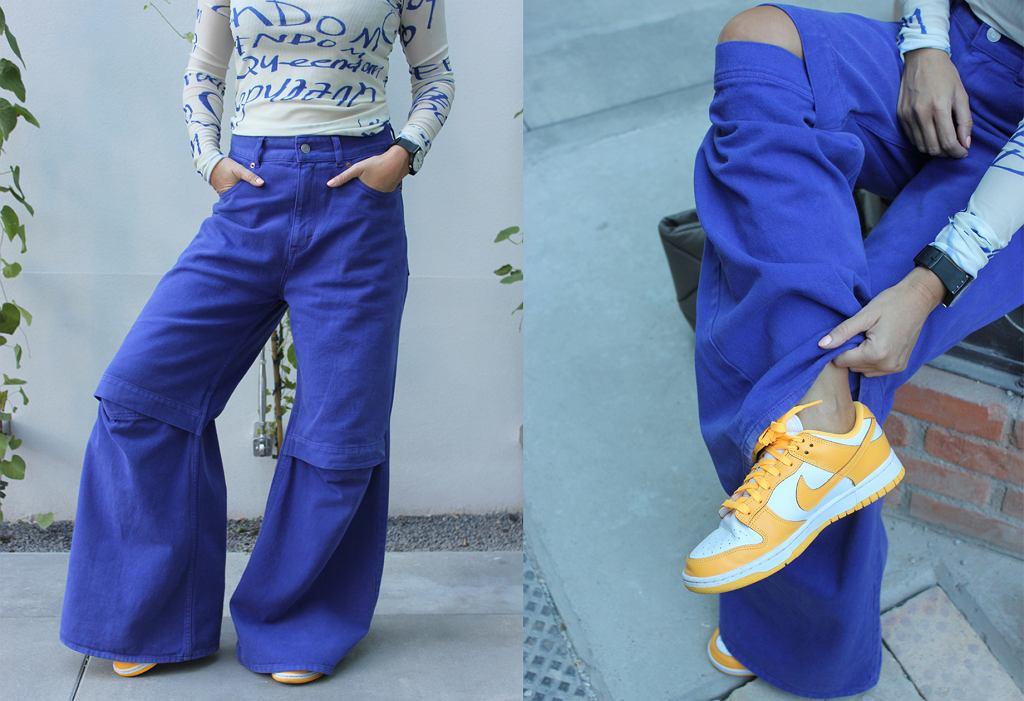 Spodnie z kolekcji H&M Studio AW2021/22