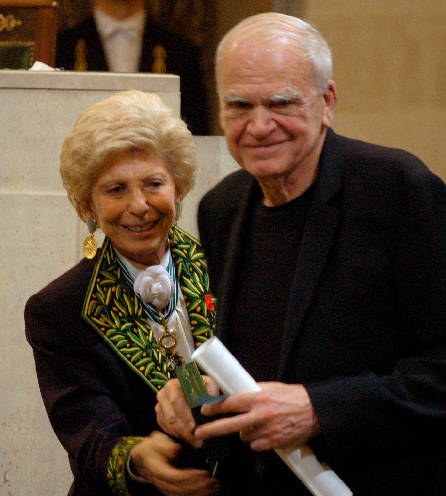 Czech France Kundera