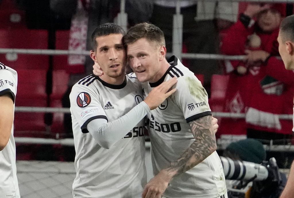 Spartak Moskwa - Legia Warszawa 0:1