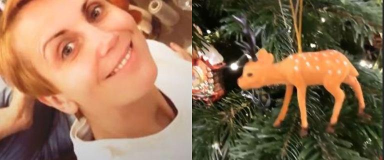 Katarzyna Zielińska pokazała ubraną choinkę. Poczuła już świąteczny klimat
