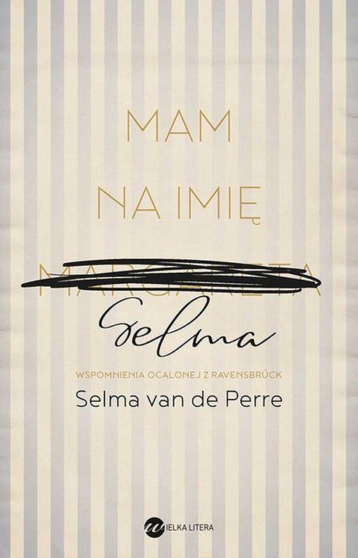 Okładka książki 'Mam na imię Selma', Selma van de Perre