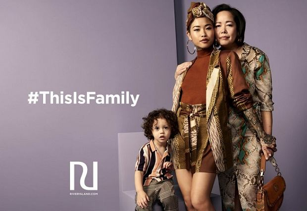 Kampania 'This Is Family' River Island