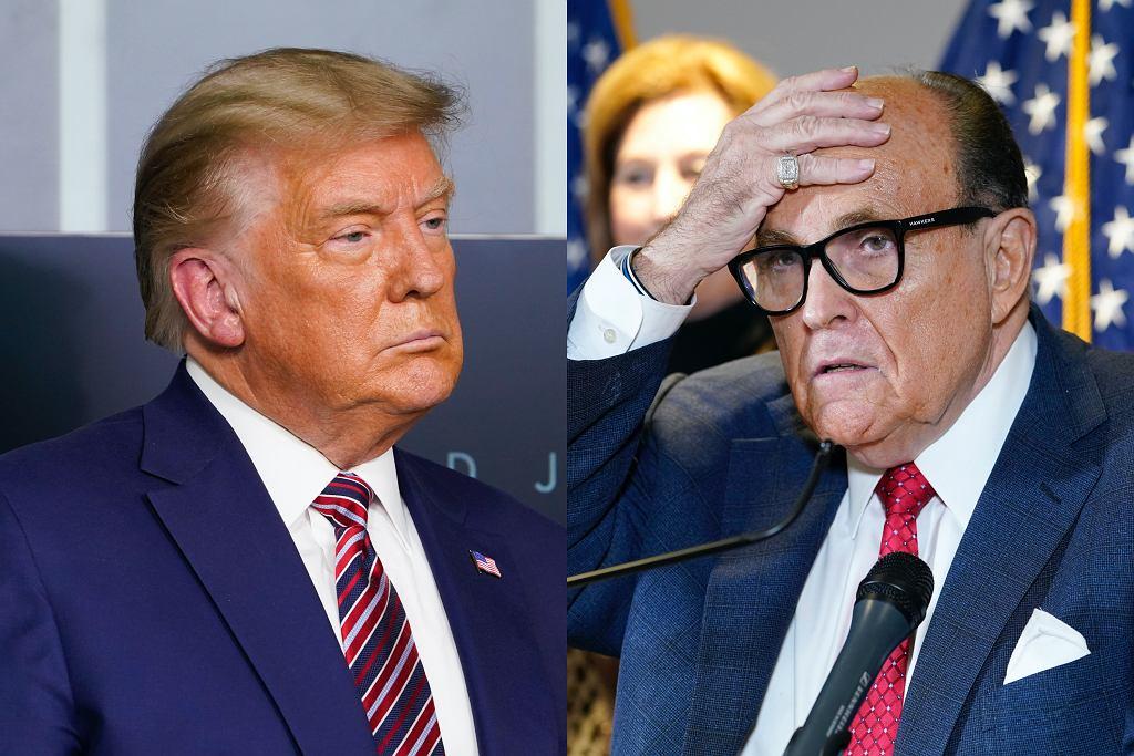 Wpadka Donalda Trumpa i jego prawnika