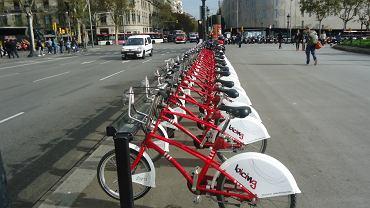 System wypożyczalni rowerów w Barcelonie