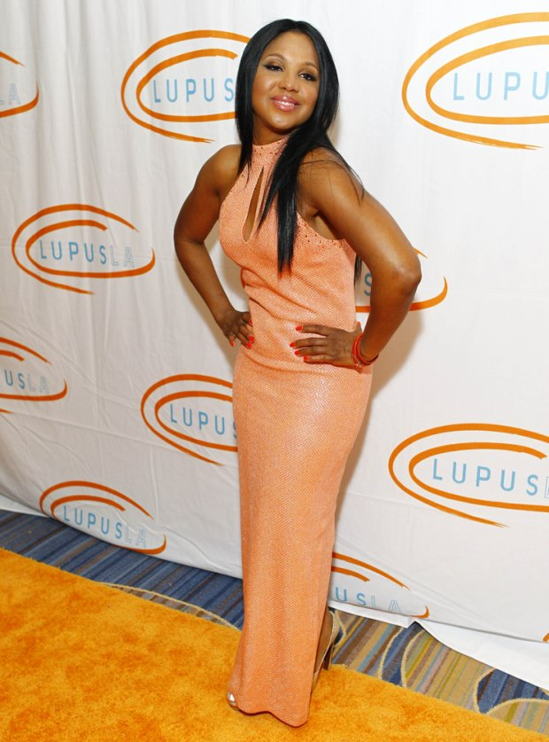 05/24/2012 - Toni Braxton - 12th Annual Lupus LA Orange Ball - Arrivals - Beverly Wilshire Hotel - Beverly Hills, CA, USA - Keywords:  Orientation: Portrait Face Count: 1 - False - Photo Credit: Kevin Terrell / PR Photos - Contact (1-866-551-7827) - Portrait Face Count: 1