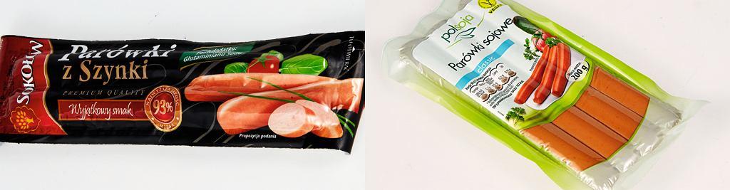 Parówki mięsne vs parówki wegetariańskie