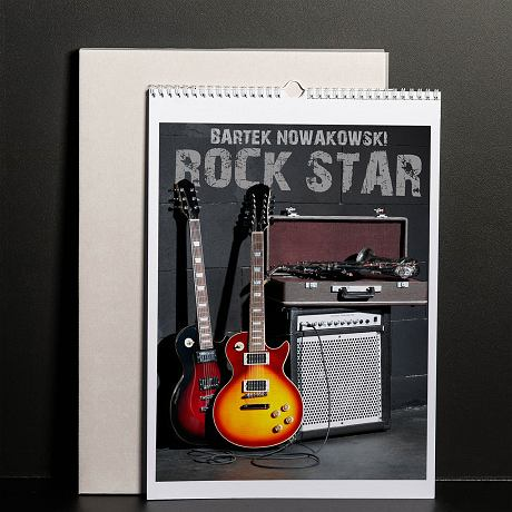 Kalendarz Rock Star