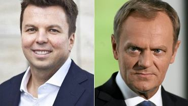 Marek Falenta i Donald Tusk