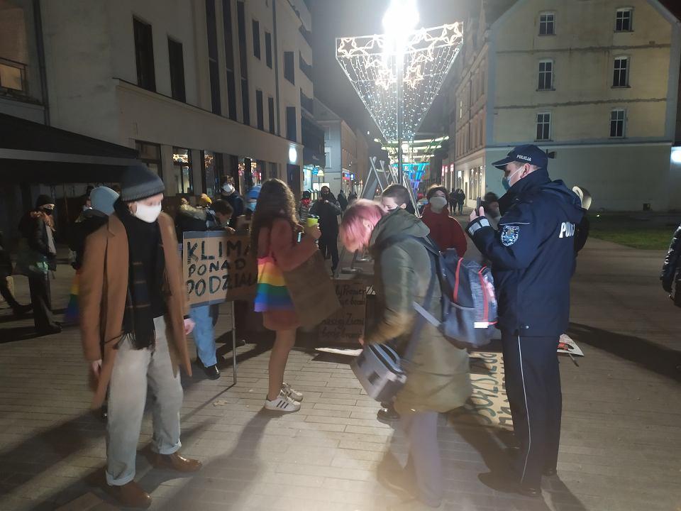 Młodzieżowy Strajk Klimatyczny w Opolu