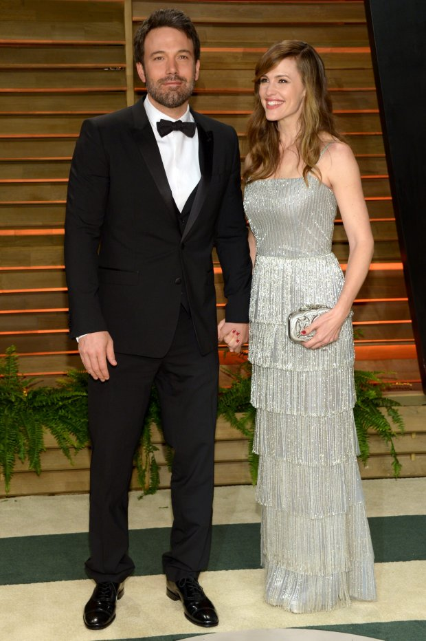 Ben Affleck, left, and Jennifer Garner attend the 2014 Vanity Fair Oscar Party, on Sunday, March 2, 2014, in West Hollywood, Calif. (Photo by Evan Agostini/Invision/AP)