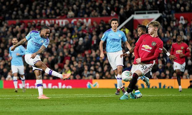 Cztery gole w derbach Manchesteru! Na Old Trafford City nie dało United żadnych szans