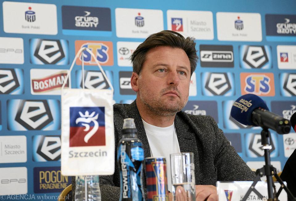 Trener Pogoni Kosta Runjaić
