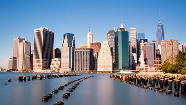 Manhattan widziany z Brooklyn