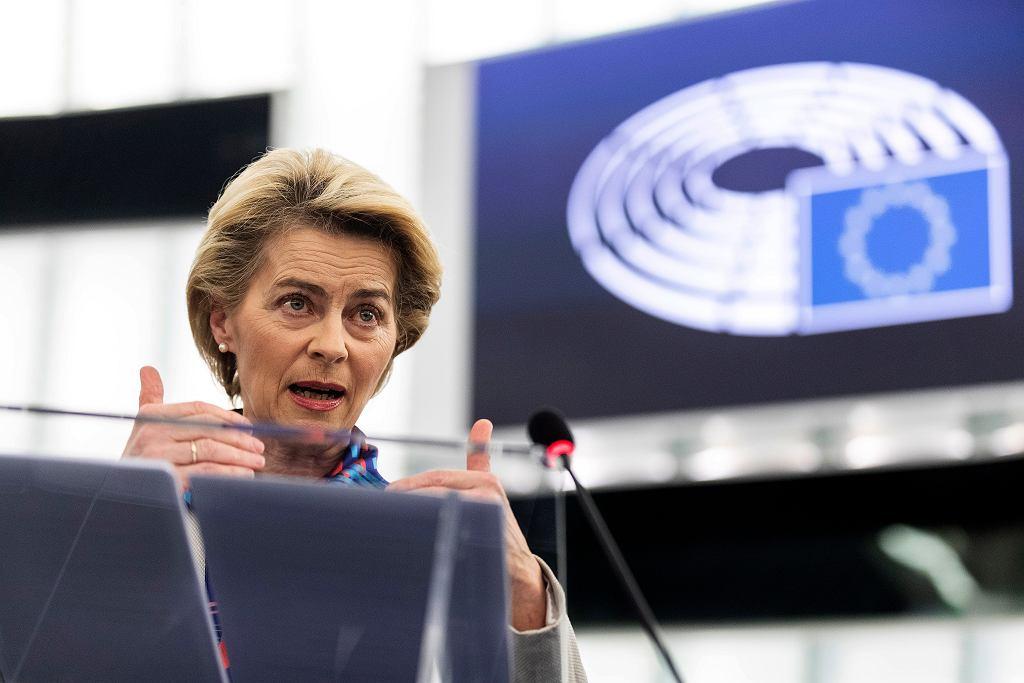 Szefowa Komisji Europejskiej Ursula von der Leyen zainicjowała prace nad europejską płacą minimalną