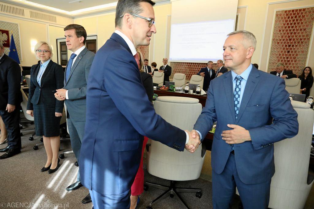 Sierpień 2018 r. Premier Mateusz Morawiecki i ówczesny minister cyfryzacji Marek Zagórski