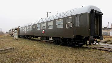 Wagon opatrunkowo-apteczny obecnie znajduje się w Muzeum Parowozownia w Jarocinie