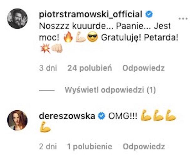 Stramowski komentuje zdjęcie Damięckiego