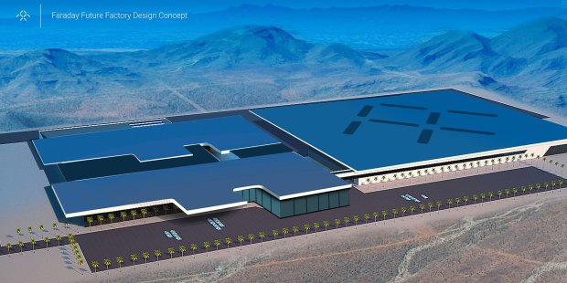 Faraday Future Factory Design Concept