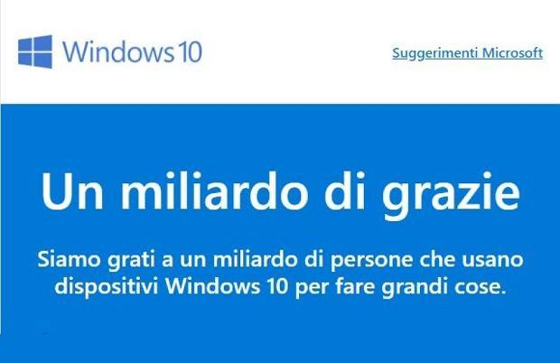 Windows 10 na miliardzie urządzeń